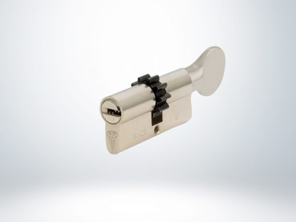 Mul-T-Lock 81 mm İnteractive+ Çarklı Tutamaklı Barel - 51267816