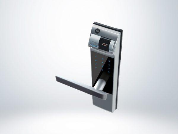 Yale Parmak İzli ve Şifreli Dijital Gömme Kilit (Ahşap Kapılar için) - YDM4109