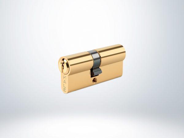 Kale Standart Silindir Çelik Pimli Blisterli - Sarı - 68mm
