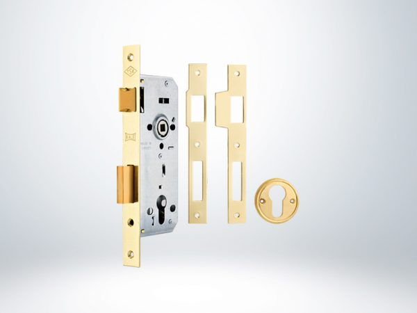 Kale Standart Silindirli Daire Kilidi Rulmanlı - Sarı - 35mm - Silindirsiz