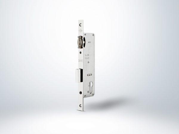 Kale PVC Doğrama için Silindirli Makaralı Kapı Kilidi - Krom - 30mm