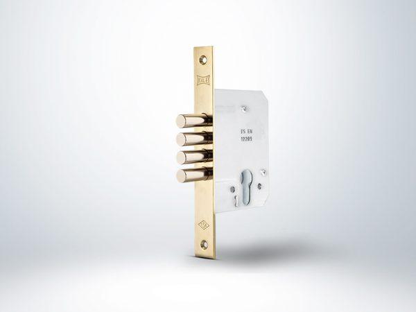 Kale Silindirli Emniyet Kilidi 4 Milli - Nikel - 52mm - Silindirsiz
