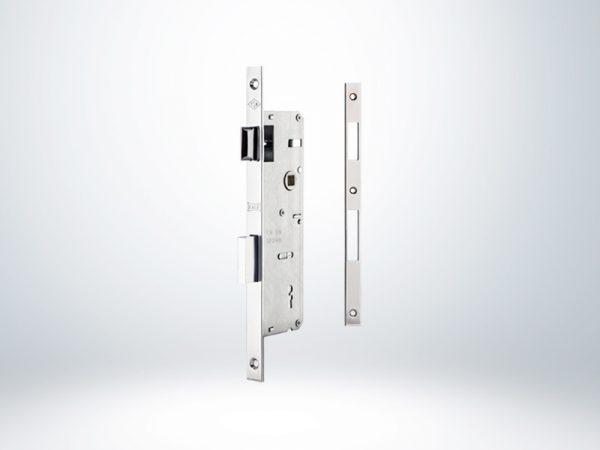 Kale PVC Doğrama için İç Oda Kapı Kilidi Dar Tip - Krom - 35mm