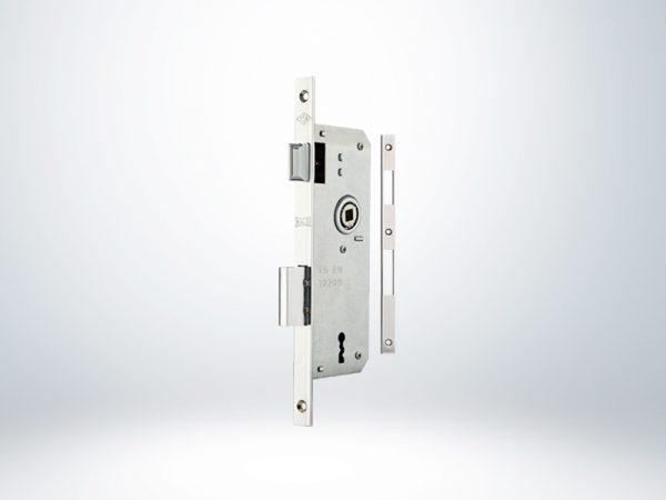 Kale PVC Doğrama için İç Oda Kapı Kilidi Rulmanlı - Krom - 40mm