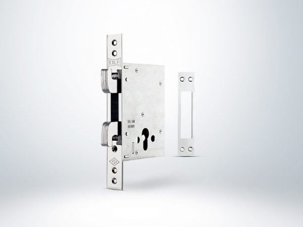 Kale Plus Champion Çelik Kapı Emniyet Kilidi - Krom - 60mm - Silindirsiz