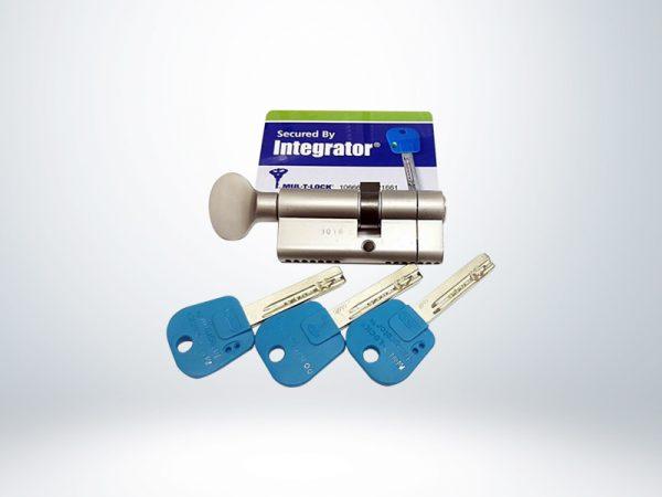 Mul-T-Lock 69 mm Integrator Bilyalı Barel Tutamaklı - N. Saten - 51262670