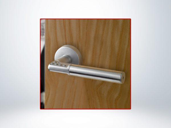 Yale Dijital Sol Kapı Kolu Krom Kutu - 8812-8LE1-0028