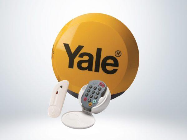 Yale Compact Kablosuz Alarm Seti - B-HSA6100