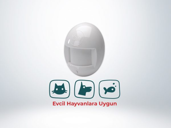 Yale Kablosuz PIR Dedektör (Evcil Hayvanlara Uygun) - HSA6021