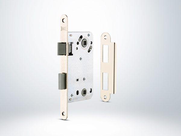Kale Wc Kapı İçin İç Kapı Gömme Kilidi Plastik Sürgülü Mandallı - 50mm - 22900000001