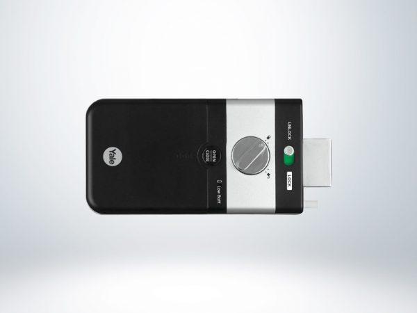 Yale Parmak İzli ve Şifreli Dijital Dıştan Takma Kilit (Ahşap Kapılar için) - YDR4110