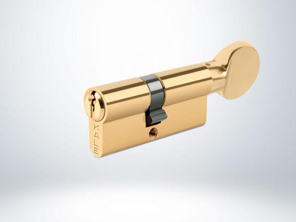 Kale Standart Mandallı Silindir Master Sistem - Sarı - 68mm