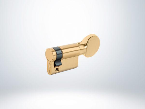 Kale Standart Yarım Mandallı Silindir Çelik Pimli - Saten - 41mm - 164M0000003