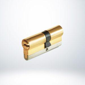 Kale Yüksek Güvenlikli Sistem Silindir Emniyet Kartlı - Saten - 68mm
