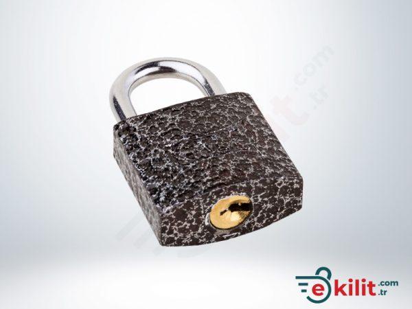 Kale Asma Kilit - 25mm - Gri - KD001/10-125