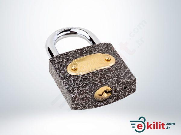 Kale Asma Kilit - 38mm - Gri - KD001/10-140