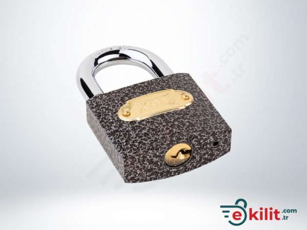 Kale Asma Kilit - 50mm - Gri - KD001/10-150