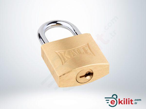 Kale Asma Kilit - 25mm - Sarı - KD001/10-225