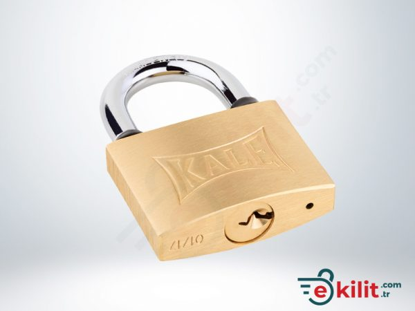 Kale Asma Kilit - 50mm - Sarı - KD001/10-250
