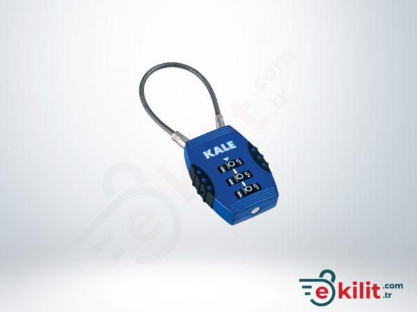 Kale Şifreli Asma Kilit - 3 Basamaklı Şifreleme - KD001/20-100