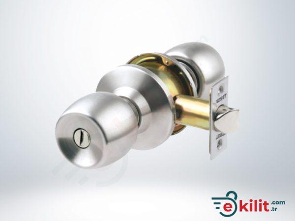 Kale Banyo ve WC Tipi Topuzlu Kilit - Saten - KD040/35-300