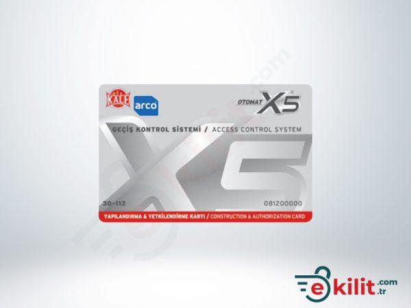 Kale X5 Otomat Kilit MF 1K Yapılandırma Kartı KD050/30-112