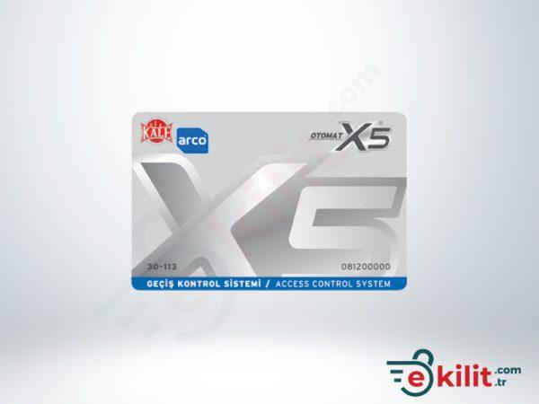 Kale Geçiş X5 Otomat Kilit MF 1K Kullanıcı Kartı KD050/30-113
