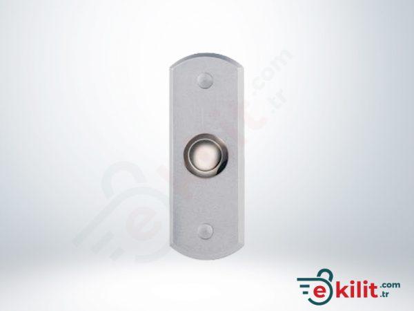 Kale Elektromanyetik Kilit Geçiş Butonu - Gümüş - KD050/90-901