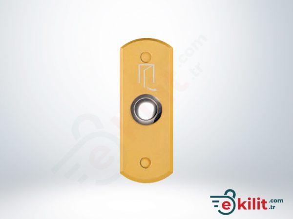 Kale Elektromanyetik Kilit Geçiş Butonu - Sarı - KD050/90-902