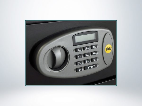 Yale LCD Ekranlı Orta Boy Çelik Kasa - Y-MS0000NFP / 2