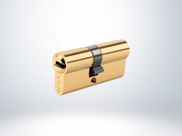 Kale Sistem Silindir Çelik Pimli - Sarı - 90mm - 164SNC00007