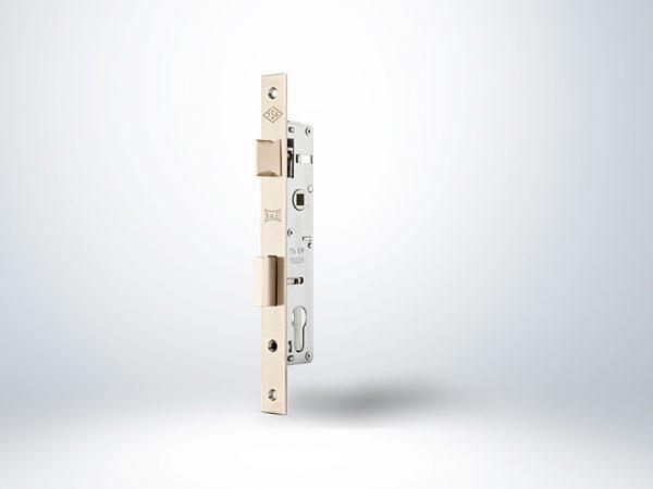 Kale Alüminyum Doğrama için Silindirli Kapı Kilidi - Krom - 30mm - Silindirsiz
