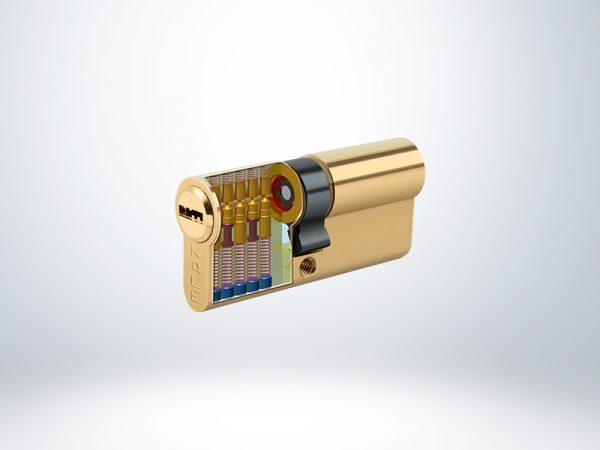 Kale Bilyalı Silindir Çelik Pimli - Sarı - 68mm - 164BNE00008