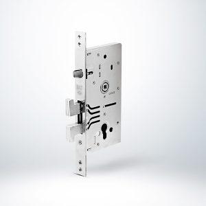 Kale Kale Yeni Nesil Champion Kancalı Monoblok Çelik Kapı Kilidi (SN Saten Silindirli) - 60mm