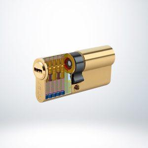 Kale Bilyalı Silindir Çelik Pimli - Saten - 90mm - 164BNE00062