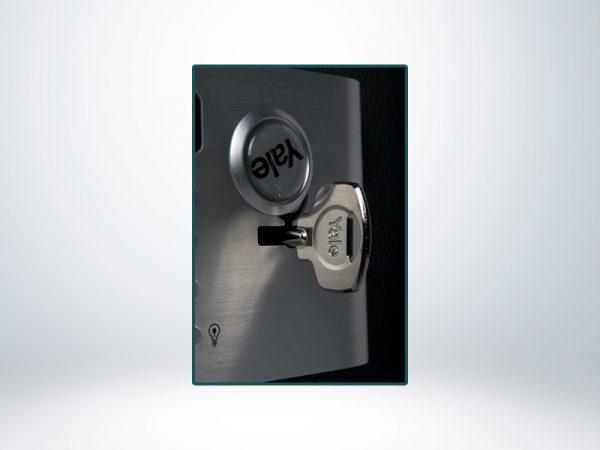 Yale Güvenlik Sertifikalı Motorlu Ofis Tipi Çelik Kasa - YSM/400/EG1