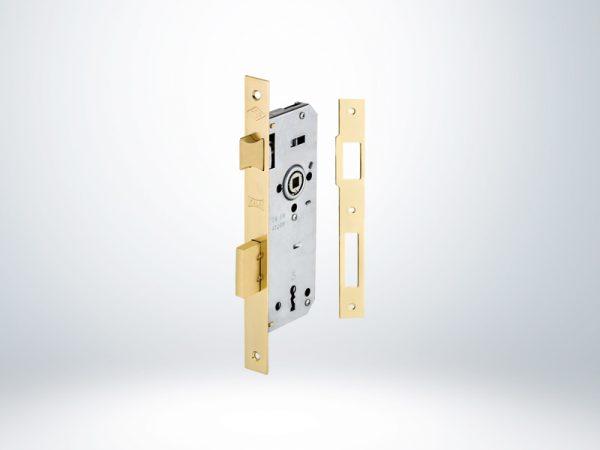Kale Ekstra Gömme Kapı Kilidi Tek Anahtarlı Rulmanlı - Nikel - 151R3500002