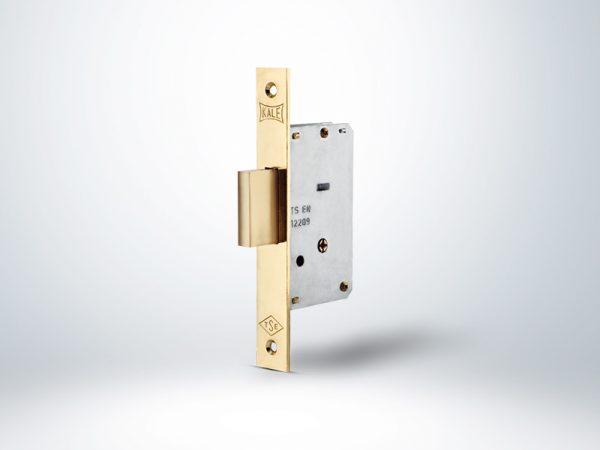 Kale Prazis Silindirli Emniyet Kilidi 2 Turlu (3 Anahtarlı) - Sarı - 35mm