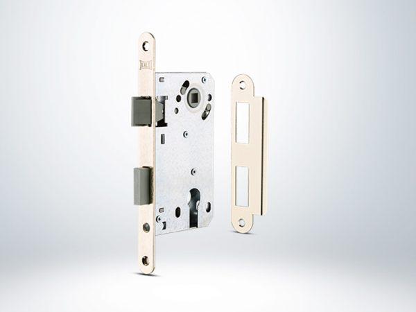 Kale Silindirli Gömme Kilit Plastik Sürgülü Mandallı - 50mm - Silindirsiz - 22200000001
