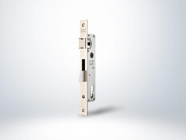Kale Silindirli Düşme Dilli Dar Kilit - Nikel - 25mm - Silindirsiz