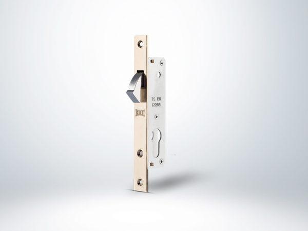 Kale Silindirli Sürme Kapı Kilidi - Nikel - 20mm - Silindirsiz