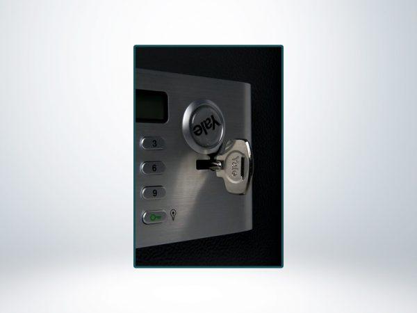 Yale Güvenlik Sertifikalı Motorlu Profesyonel Tip Çelik Kasa - YSM/520/EG1