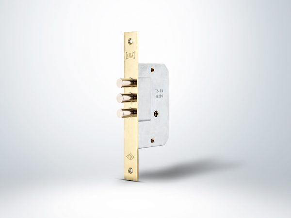 Kale Prazis Silindirli Emniyet Kilidi 3 Milli 3 Anahtarlı Blisterli - Sarı - 45mm