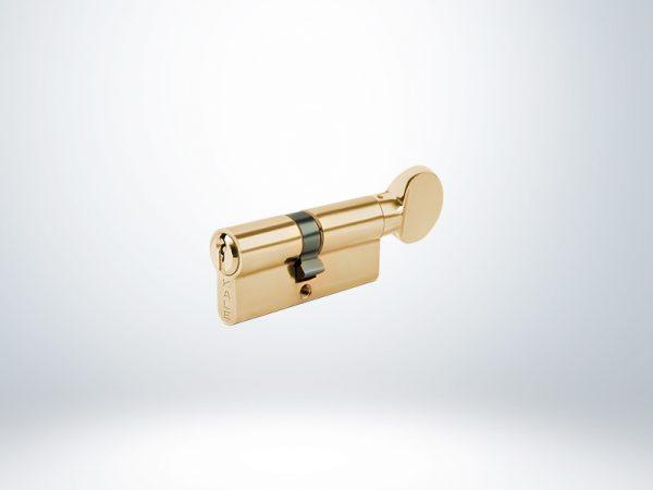 Kale Sistem Mandallı Silindir Çelik Pimli - Sarı - 68mm - 164SM000003