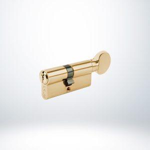 Kale Sistem Mandallı Silindir Çelik Pimli - Saten - 68mm - 164SM000002