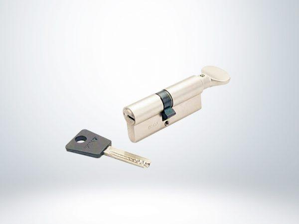 Mul-T-Lock 90 mm 7X7 Bilyalı Barel Tutamaklı - 51253269