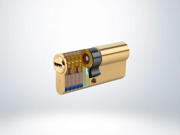 Kale Bilyalı Silindir Master Sistem - Sarı - 68mm
