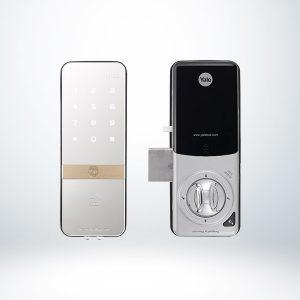 Yale Kartlı ve Şifreli Dijital Dıştan Takma Kilit (Ahşap Kapılar İçin) - YDR323