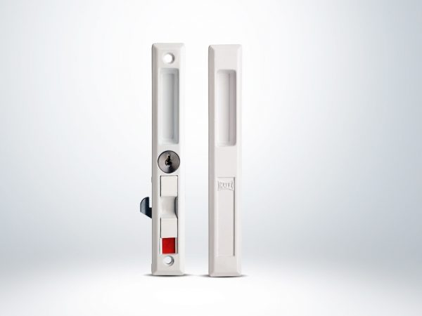Kale PVC-ALÜMİNYUM Doğrama için Sürme Kilit Anahtarlı - Beyaz