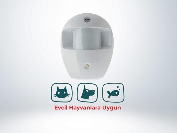 Yale SR-PETPIR / Evcil Hayvan PIR Hareket Dedektörü